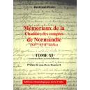 Mémoriaux de la chambre des comptes de Normandie XIV°-XVII° siècles Tome 11